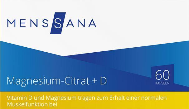 Magnesium Citrat D MensSana