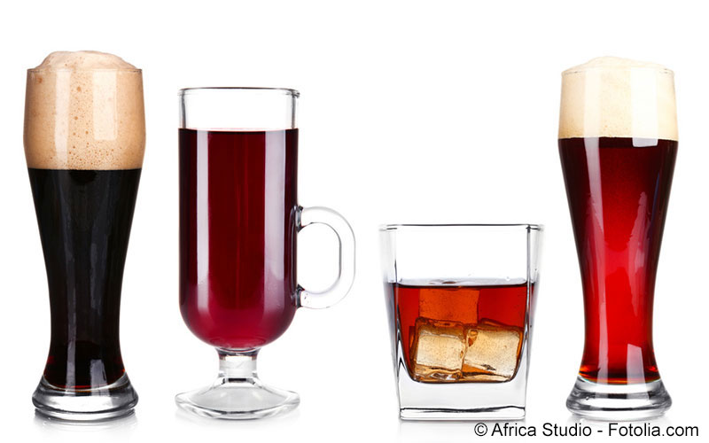 Kalorientabelle Getränke mit Alkohol