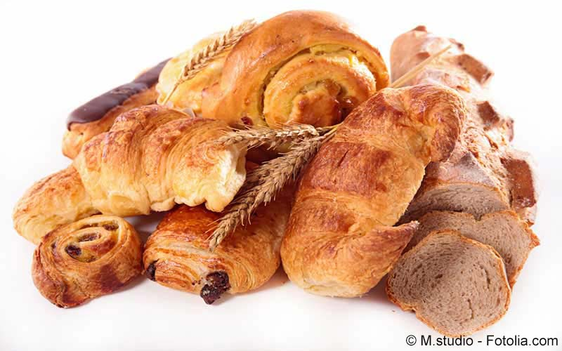 Kalorientabelle Brot, Kuchen und Gebäck