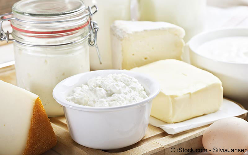 Calciummangel-Milch-Ernährung