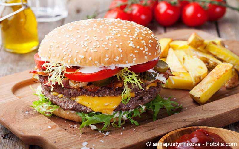 Kalorientabelle Fast Food