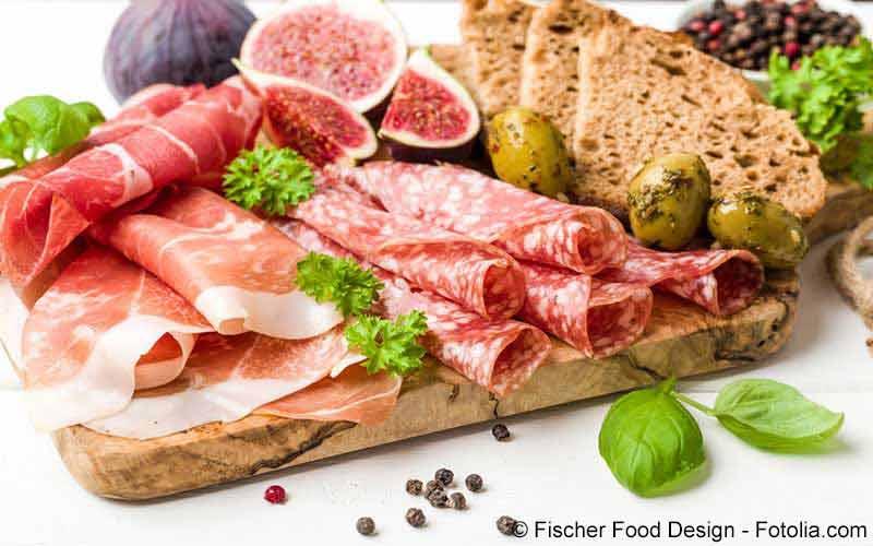Kalorientabelle Wurst, Schinken und Speck