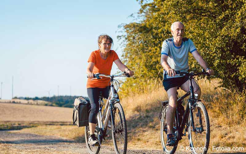 Fahrradfahren Senioren