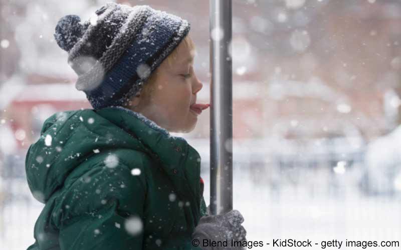 Schnee Minusgrade