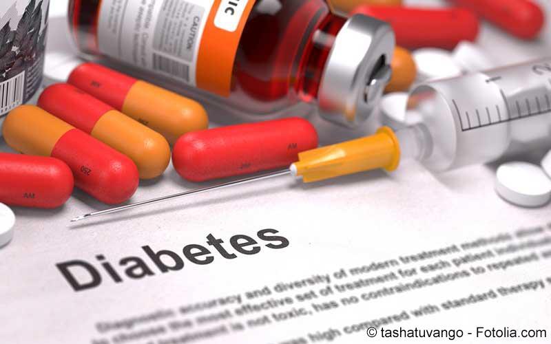 Diabetes medizinischer Bericht