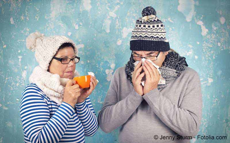 Erkältung Paar
