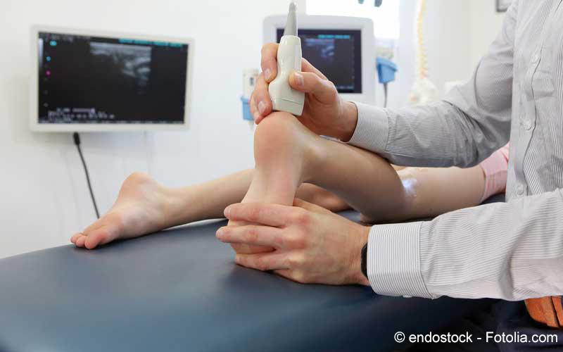 Fuß Behandlung