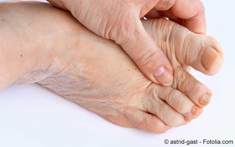 Fußzehe Schmerzen