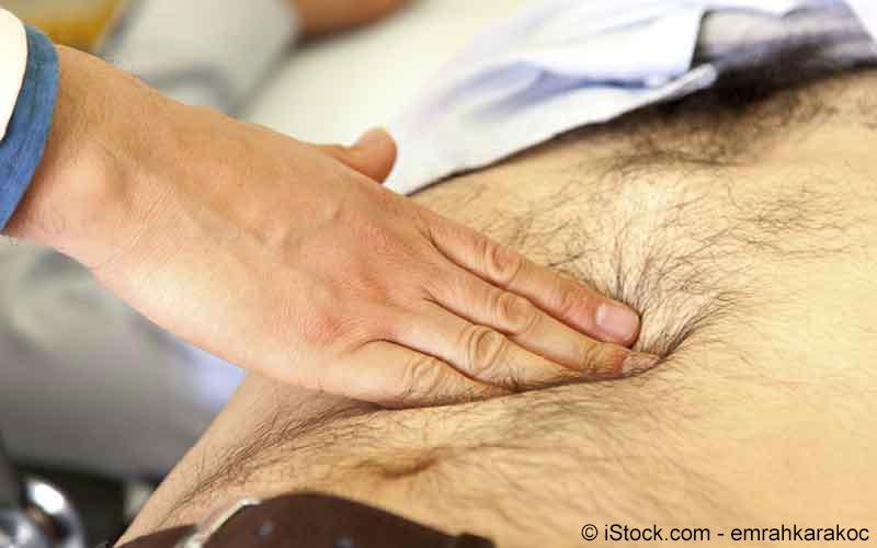 Leberbeschwerden Untersuchung beim Arzt