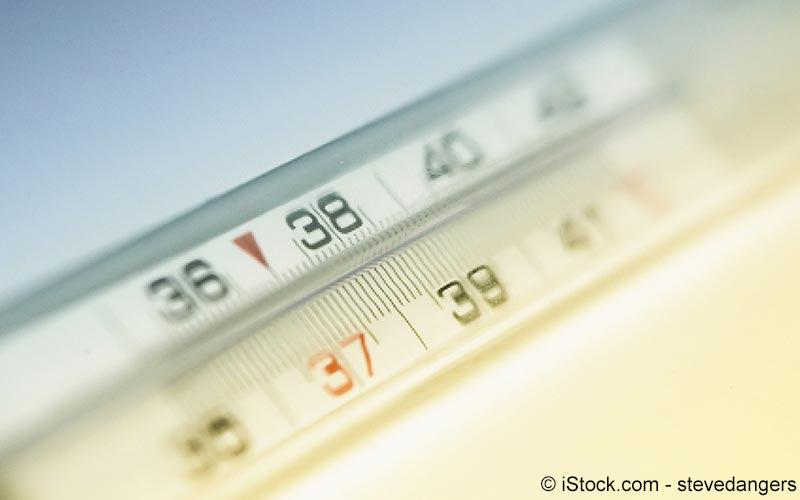 Thermometer 37 Grad Celsius