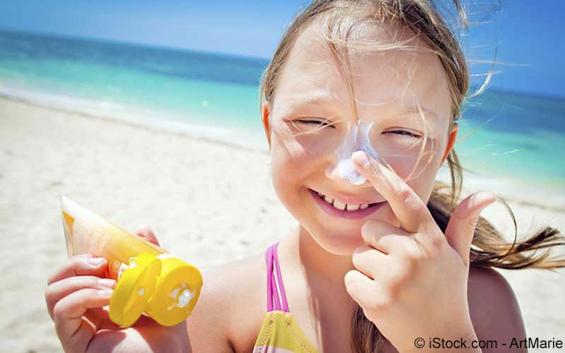 Vorbeugung gegen Sonnenbrand