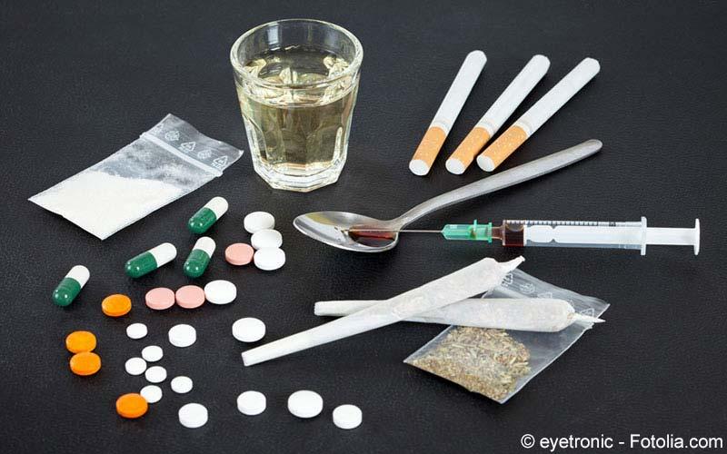 Rauschgift Zigaretten Drogen