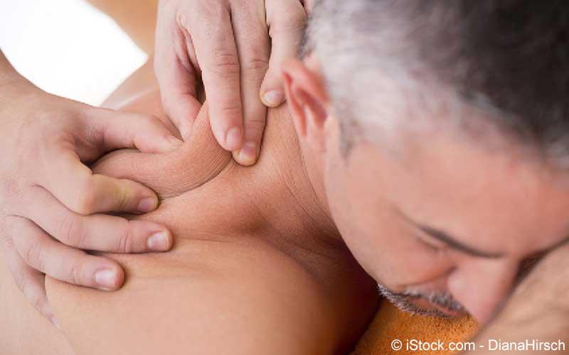 Nackenschmerzen-Behandlung